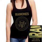 Camiseta Los Ramones mujer