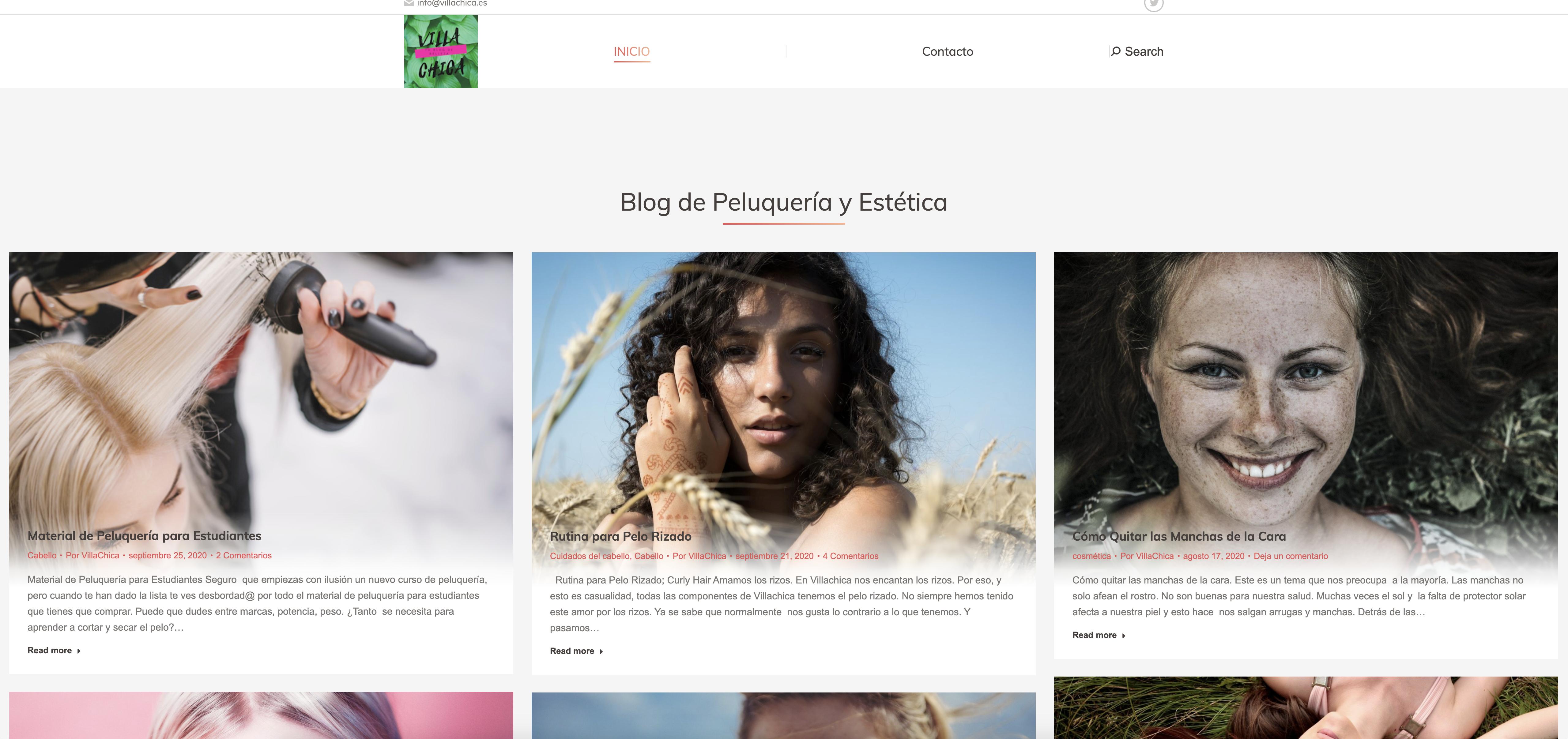 VillaChica - Blog de Peluquería